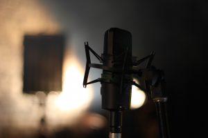 Mikrofon för podcast