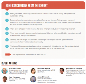Conclusions from the report